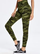 ECO Millitary Camo Print Leggings Yoga Pilates Leggings