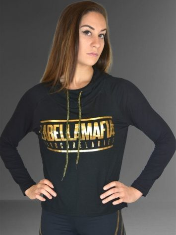 LABELLAMAFIA Long Sleeve Hoody Top FBL11842 Hardcore Ladies