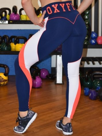 OXYFIT Leggings Motion 14467 - Sexy Workout Leggings Navy