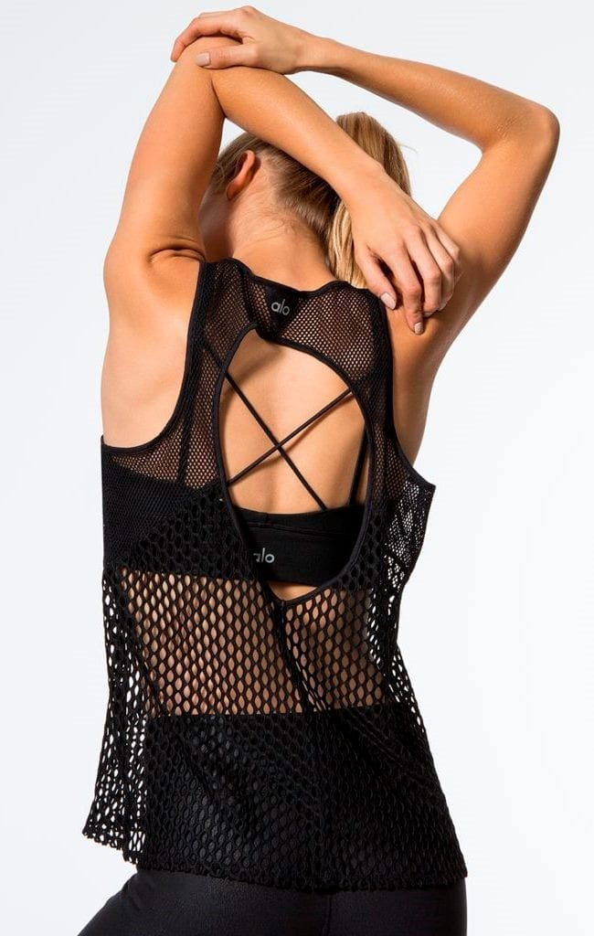 Alo Yoga - Net Tank -BEST FIT BY BRAZIL