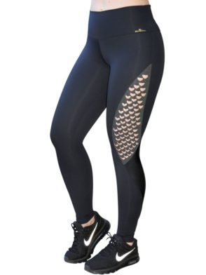 CAJUBRASIL Leggings 9021 Emana Black Sexy Leggings Brazilian