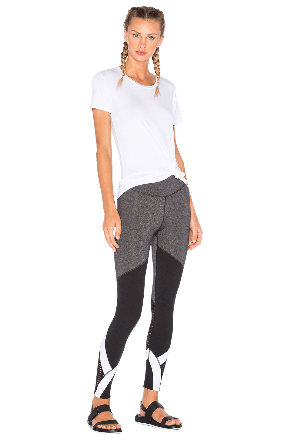 Our activewear on sale is regularly updated to ensure that we offer a discount for customers on select items every now and then. Whether it's one of our tanks, sports bras, or leggings we have a selection of activewear on sale that is guaranteed to sell out quickly!