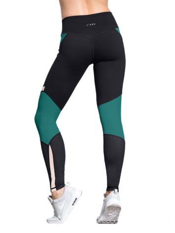 L'URV Leggings I Am a Dreamer Emerald Sexy Workout Tights