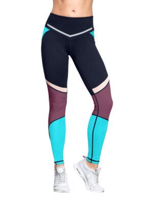 L'URV Leggings I Am a Dreamer Rasin Blue Sexy Workout Tights
