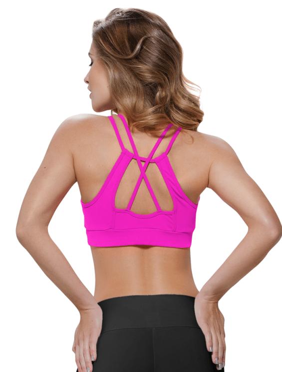 oxyfit sports bra Malta 27106 pink rear-bestfitbybrazil