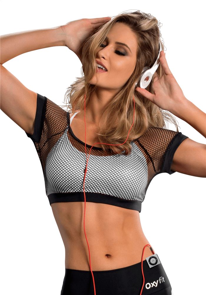 If you happen to be blessed with a bustier top half, your solution is two-fold with this Victoria's Secret sports bra: Clasp the first layer in front, then top that with a .