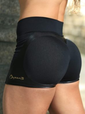 DYNAMITE Shorts SH2094  Black Butt Heart-Sexy Shorts
