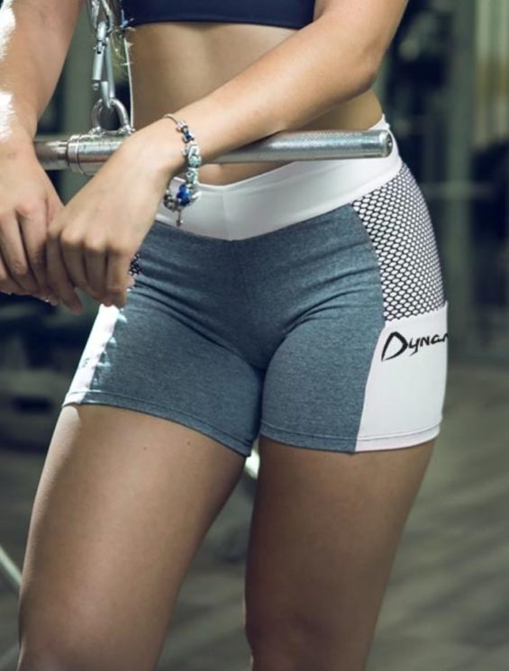 DYNAMITE Shorts SH979 Chess Blend -Sexy Shorts White