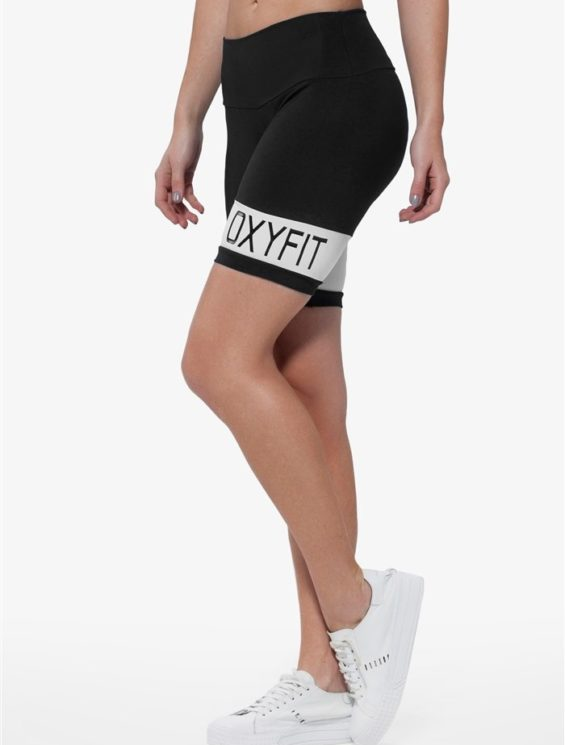 OXYFIT Shorts 21215 Palm Beach- Sexy Workout Shorts-Yoga Shorts White