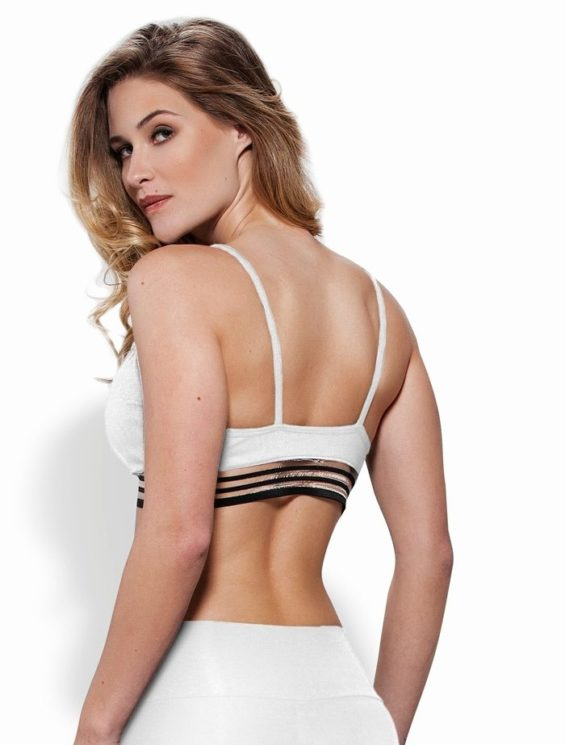 OXYFIT Bra Top 27109 Hollywood - Sexy Sports Bras- White
