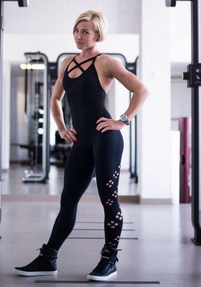 CAJUBRASIL 6276 Sexy Workout One-Piece Jumpsuit Vigor