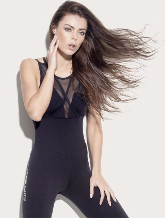 SUPERHOT MAC1195 Sexy Workout Long Jumpsuit Romper One-Piece