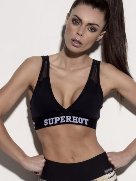 SUPERHOT Sports Bra TOP1230 Cute Yoga Sport Bra Hustle