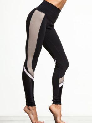 ALO Yoga Elevate Leggings Sexy Yoga Pants – Black Gravel