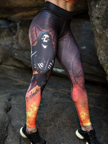 DYNAMITE BRAZIL Leggings Heavy Metal