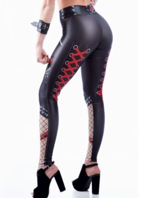 DYNAMITE BRAZIL Leggings L400 Punk-Sexy Workout Leggings