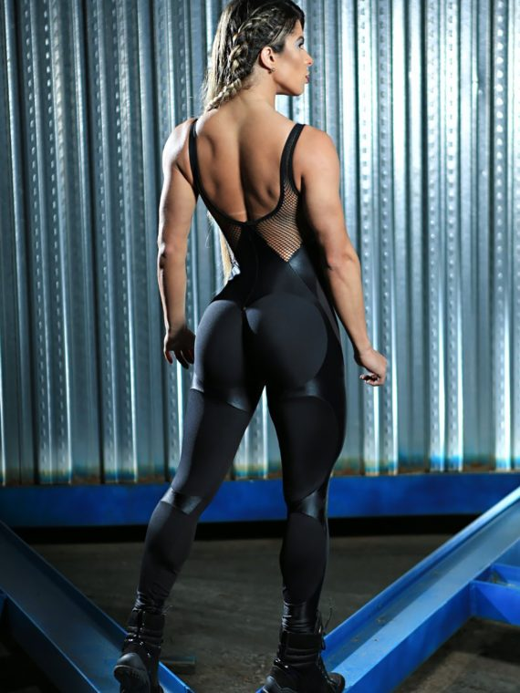 DYNAMITE Jumpsuit ML2094 Black Apple Booty-Sexy One-Piece Romper