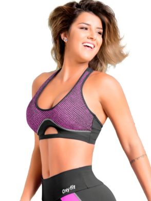OXYFIT Bra Top Turn-Up 27073 Pink – Sexy Sports Bras