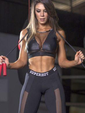 SUPERHOT Sports Bra TOP1398 Blaze Cute Yoga Sport Bra