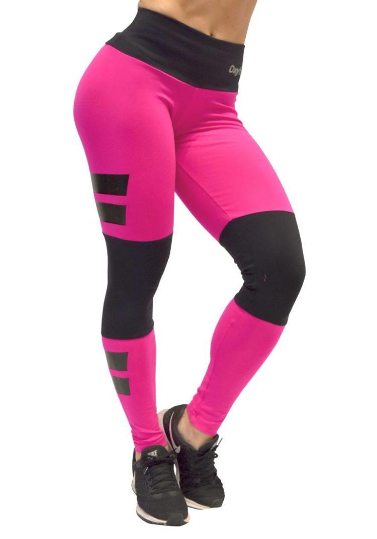 8881c743f4 OXYFIT Leggings Santorini 64081 Hot Pink - Sexy Workout Leggings ...
