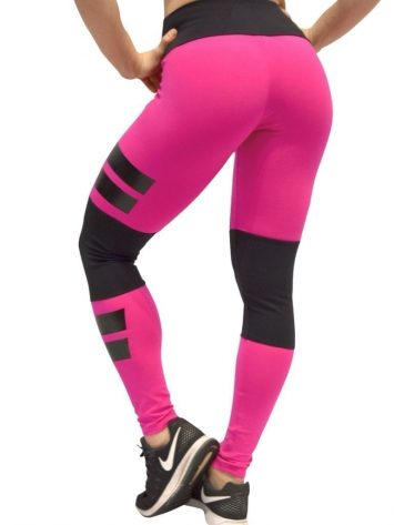 OXYFIT Leggings Santorini 64081 Hot Pink - Sexy Workout Leggings