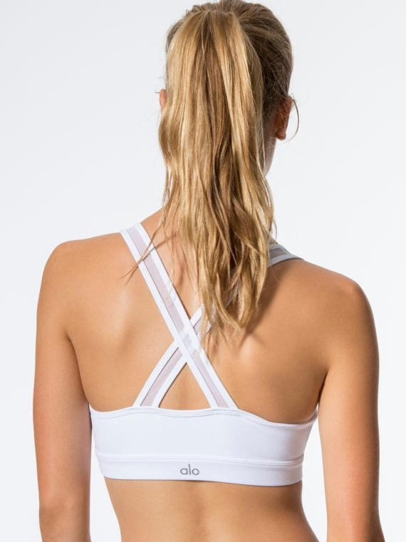 ALO Yoga Vixen Fitted Muscle Tank -Sexy Yoga Tops Black