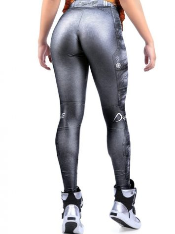 DYNAMITE BRAZIL Leggings L400 Silver Ash-Sexy Workout Legging