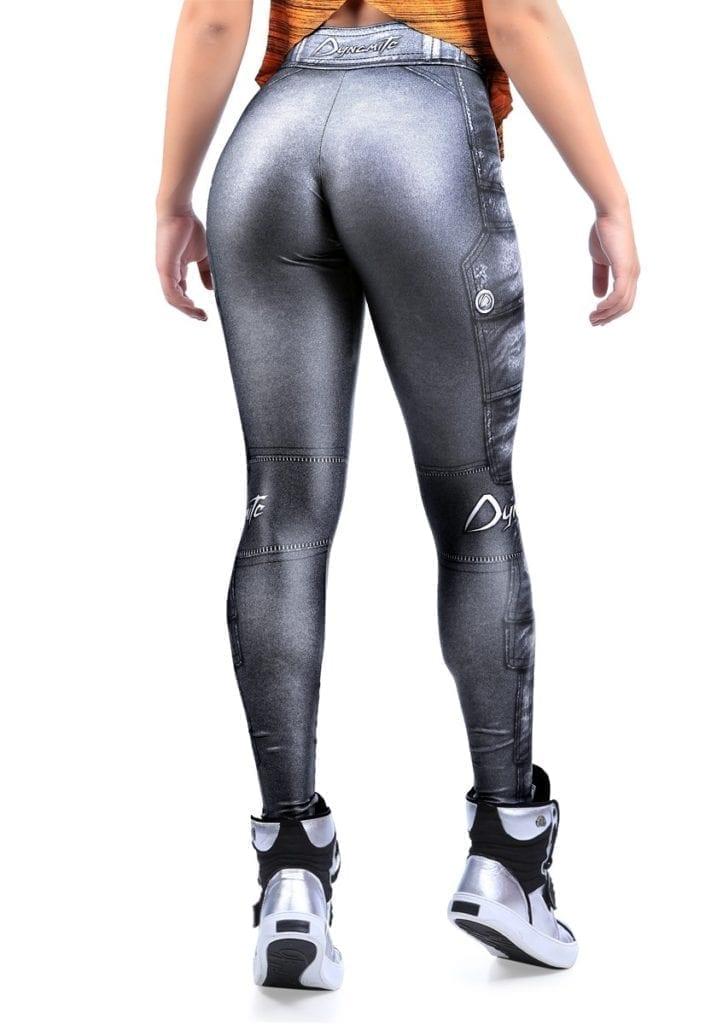 DYNAMITE BRAZIL Leggings L400 Silver Ash-Sexy Workout Legging