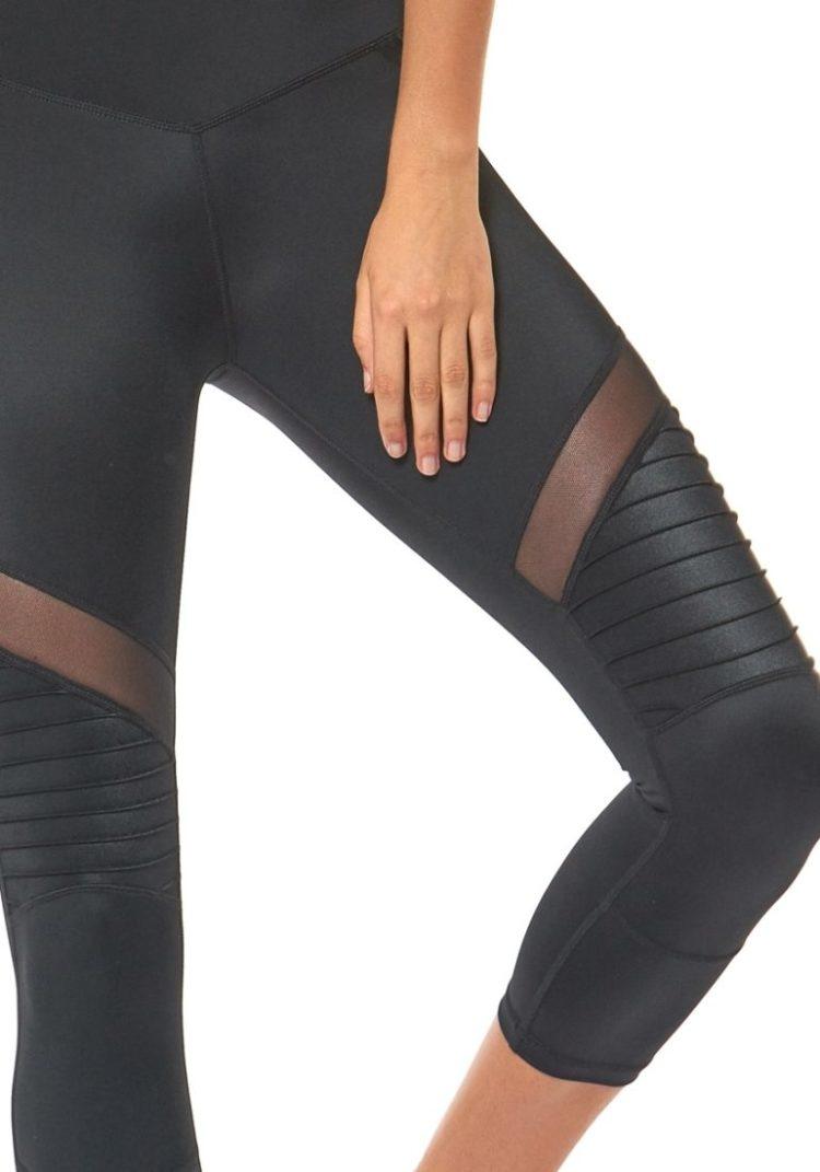 L'URV Leggings SHAKE YOUR BOOTY 3/4 Leggings Sexy Workout Tights BK