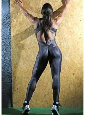 DYNAMITE Jumpsuit ML2092 Lead Lava-Sexy One-Piece Romper