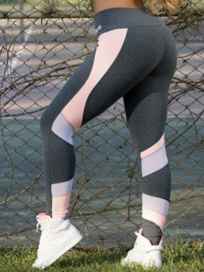 OXYFIT Leggings Rose 64110 Charcoal – Sexy Workout Leggings
