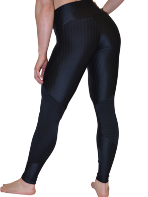 CAJUBRASIL 5924 Black Cigarette Zipper - Sexy Leggings