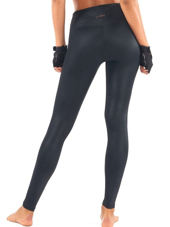 L'URV Leggings The Shimmers Leggings Black Sexy Workout Tights