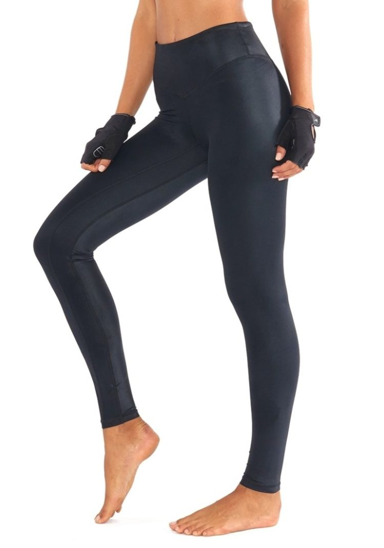 9333f943105ac L'URV Leggings The Shimmers Leggings Black Sexy Workout Tights