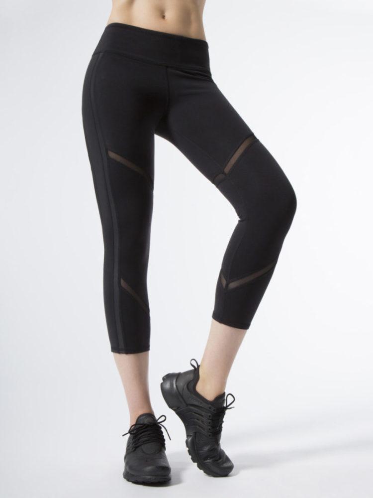 ALO Yoga Continuity Capri Sexy Leggings - Black