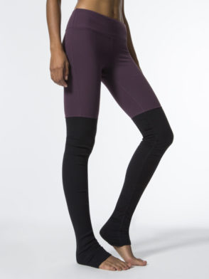 ALO Yoga Goddess Legging Sexy Yoga Leggings Eggplant Black