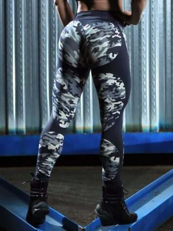DYNAMITE Brazil Leggings L2094 APPLE CAMO BOOTY Sexy Workout Leggings