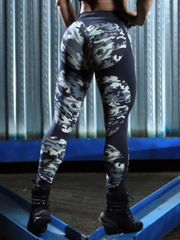 DYNAMITE Brazil Leggings L2094 APPLE CAMO BOOTY Sexy Workout Leggings