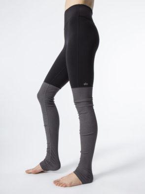 ALO Yoga Goddess Legging High Waisted Sexy Yoga Leggings Black Heather