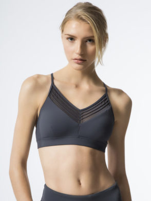 ALO Yoga Ultimate Bra -Sexy Workout Bra Tops Anthricite