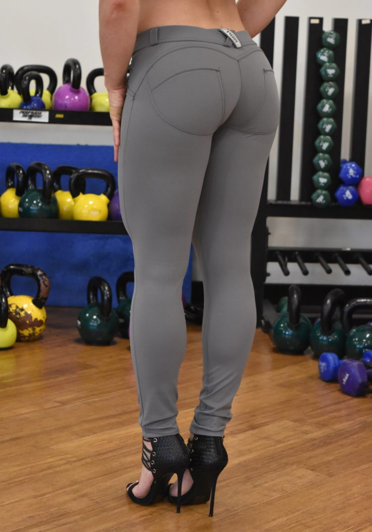 FREDDY WR.UP Shaping Effect - Low Rise - Skinny - Cellulite Reduction GRAY