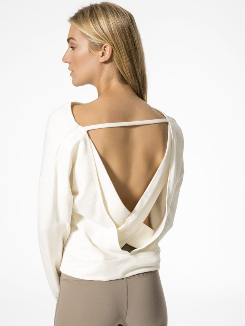 Alo Yoga Long Sleeve Top Uplift Sexy Yoga Tops Pristine Superhot