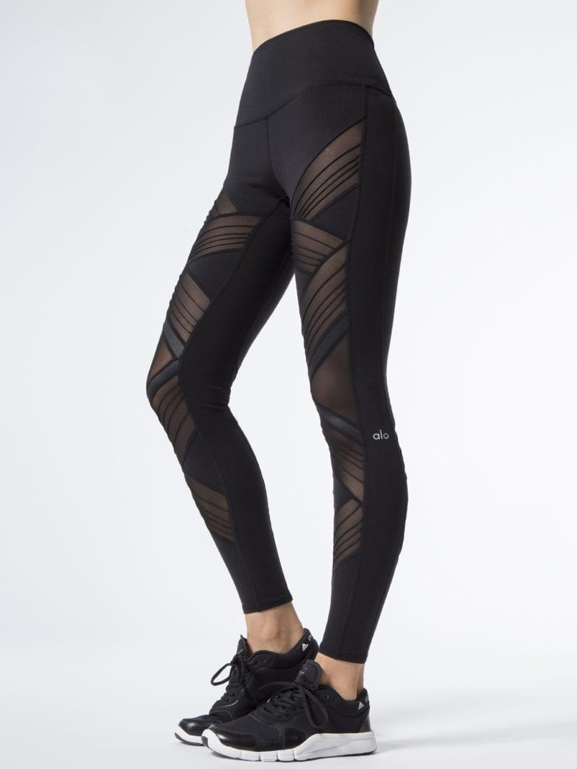 75d5de42133c2 ALO Yoga Ultimate High Waist Leggings - Sexy Yoga Pants Black