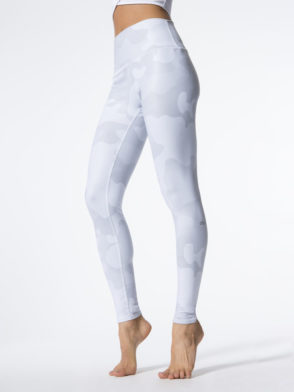 ALO Yoga Airbrush Legging High-Waist Yoga Leggings Sexy Leggings White Camo