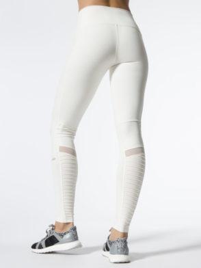 ALO Yoga Sexy High-Waist Moto Yoga Leggings Sexy Pilates Leggings Pristine