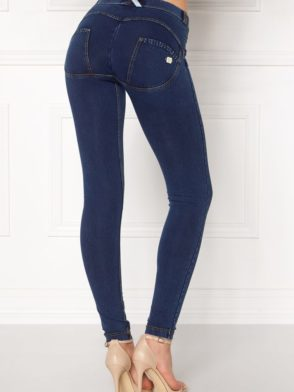 FREDDY WR.UP Shaping Effect – Low Waist – Skinny – Denim Effect Dark Wash