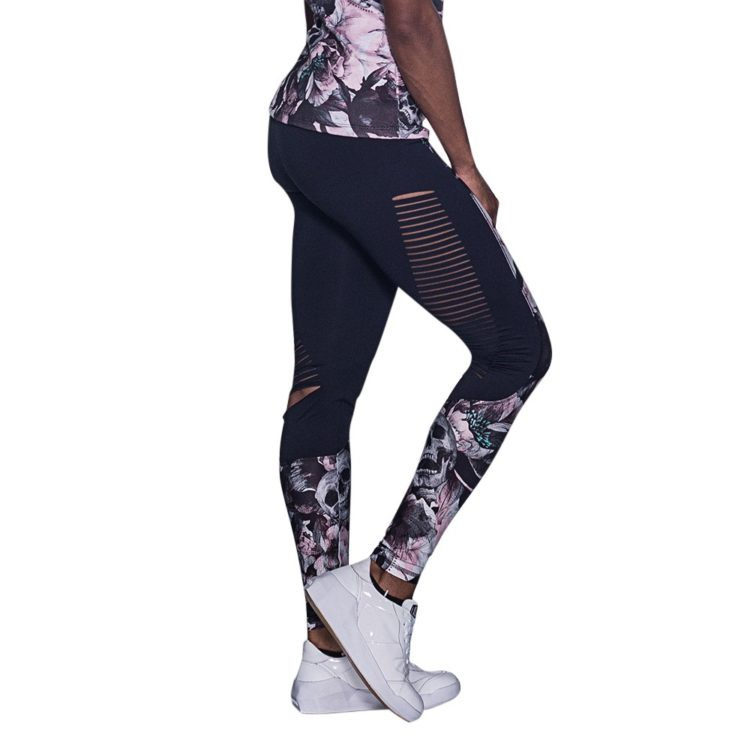 LABELLAMAFIA Leggings FCL11654 Sexy Leggings Columbia Skull