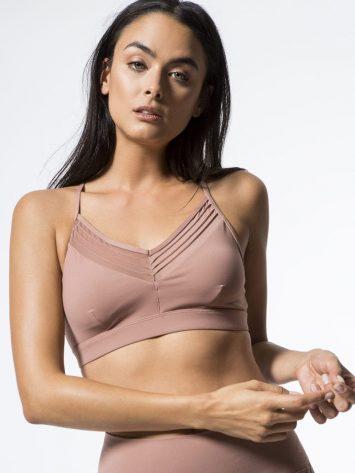 ALO Yoga Ultimate Bra -Sexy Workout Bra Tops Rosewater