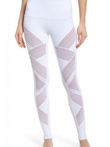 ALO Yoga Ultimate High Waist Leggings – Sexy Yoga Pants White