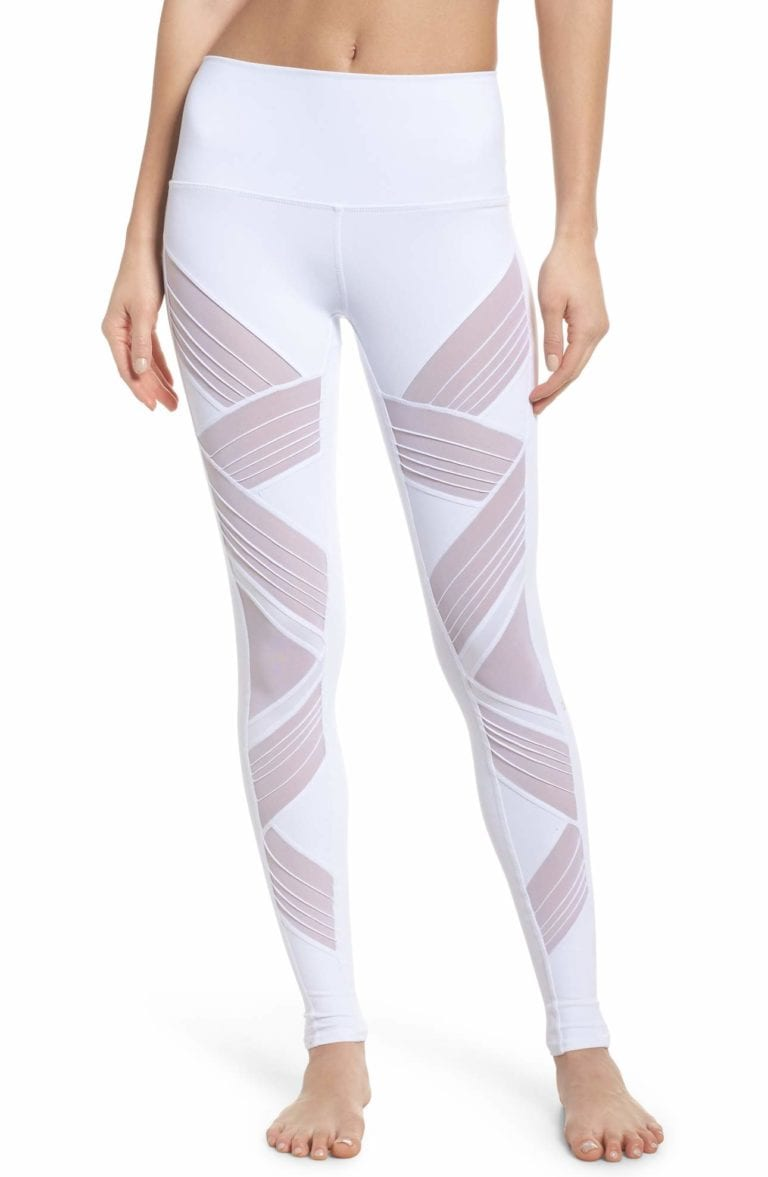f7e31e35ea283 ALO Yoga Ultimate High Waist Leggings - Sexy Yoga Pants White